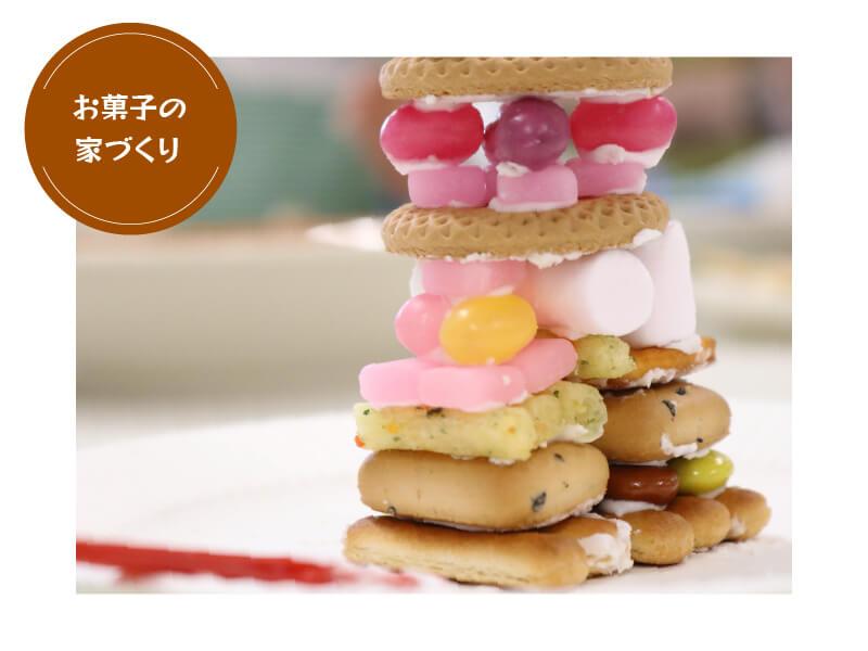 こどもミュージアム〜お菓子の家づくり