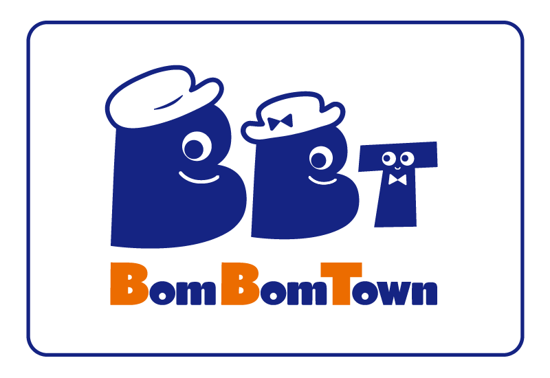 BomBomTownロゴ