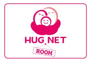HUG NET Room ロゴ
